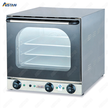 EB4A Electric double fan Convection Oven with timer for commercial use for making bread, cake, pizza