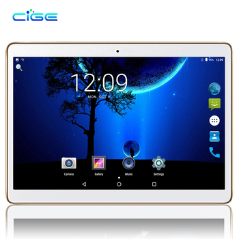 CIGE yeni 10.1 inç yeni orijinal 3G telefon tablet dört çekirdekli tablet Android 7.0 tablet 2 GB RAM 16 GB ROM GPS Tablet pc wifi