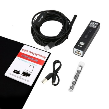 F150 Full HD 1200 P 2MP WIFI USB endoskop Kamera Sert Kablo Android iPhone IOS WIFI USB Boru Muayene Borescope Kamera