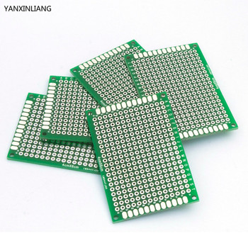 10pcs High-quality!! Double Side Prototype PCB diy Universal Printed Circuit Board 4x6cm